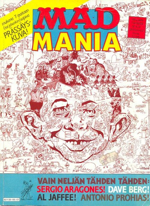 MAD Mania • Finland • 2nd Edition - Semic