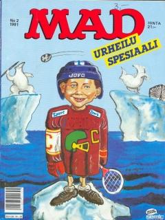 Go to Urheilu Spesiaali • Finland • 2nd Edition - Semic