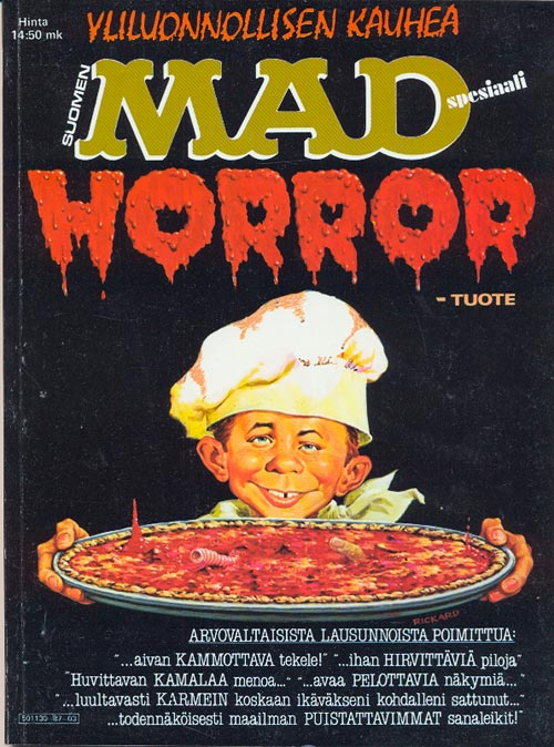 MAD Horror • Finland • 2nd Edition - Semic