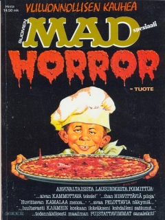 Go to MAD Horror • Finland • 2nd Edition - Semic