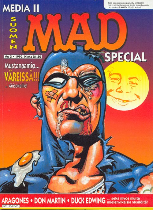 Media MAD 2 #3 • Finland • 2nd Edition - Semic