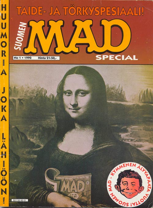 Taide- ja törkyspesiaali #1 • Finland • 2nd Edition - Semic