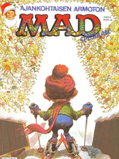 Ajankohtaisen armoton MAD • Finland • 2nd Edition - Semic