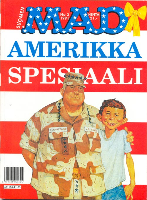 Amerikka Spesiaali #3 • Finland • 2nd Edition - Semic