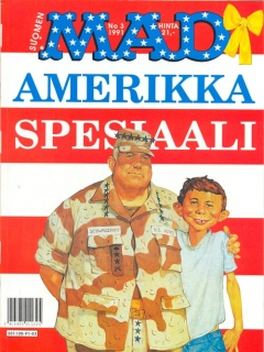 Amerikka Spesiaali #3 • Finland • 2nd Edition - Semic