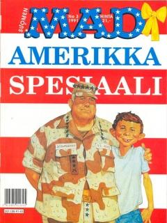Go to Amerikka Spesiaali #3 • Finland • 2nd Edition - Semic
