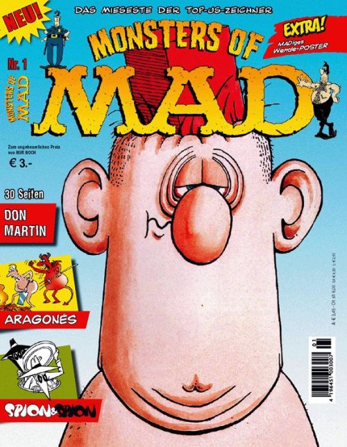 Monsters of MAD #1 • Germany • 2nd Edition - Dino/Panini