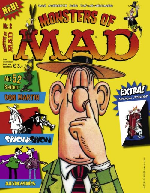 Monsters of MAD #2 • Germany • 2nd Edition - Dino/Panini