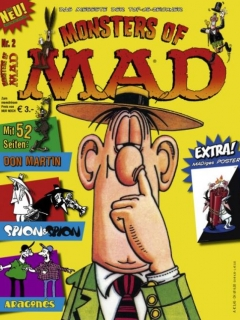 Go to Monsters of MAD #2 • Germany • 2nd Edition - Dino/Panini