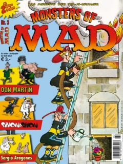 Monsters of MAD #3 • Germany • 2nd Edition - Dino/Panini