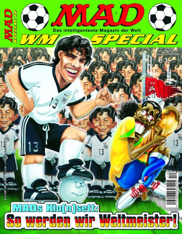 MAD Special #12 • Germany • 2nd Edition - Dino/Panini