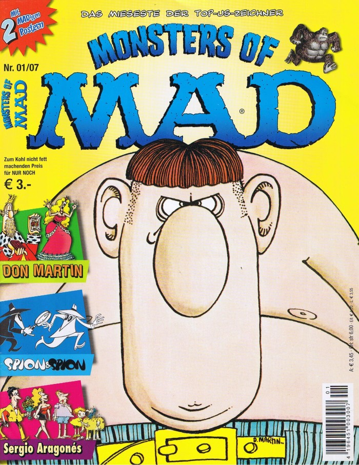 Monsters of MAD #4 • Germany • 2nd Edition - Dino/Panini
