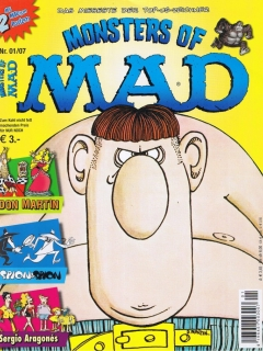 Go to Monsters of MAD #4 • Germany • 2nd Edition - Dino/Panini
