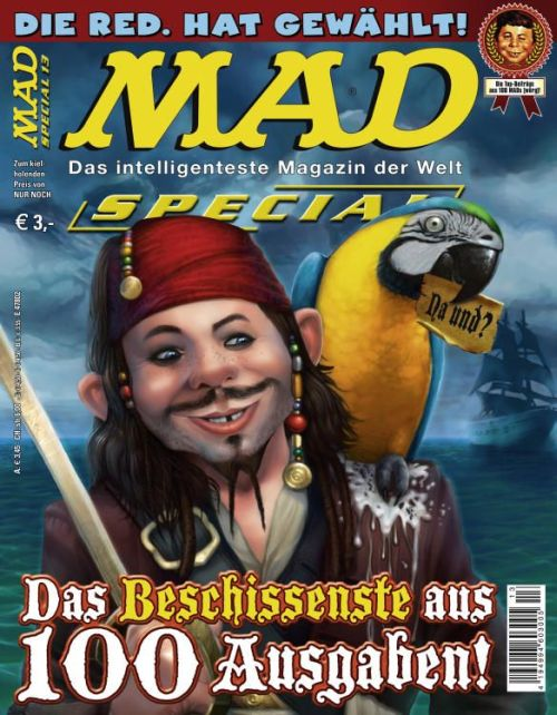 MAD Special #13 • Germany • 2nd Edition - Dino/Panini