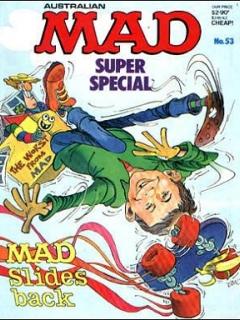 Go to MAD Super Special #53 • Australia