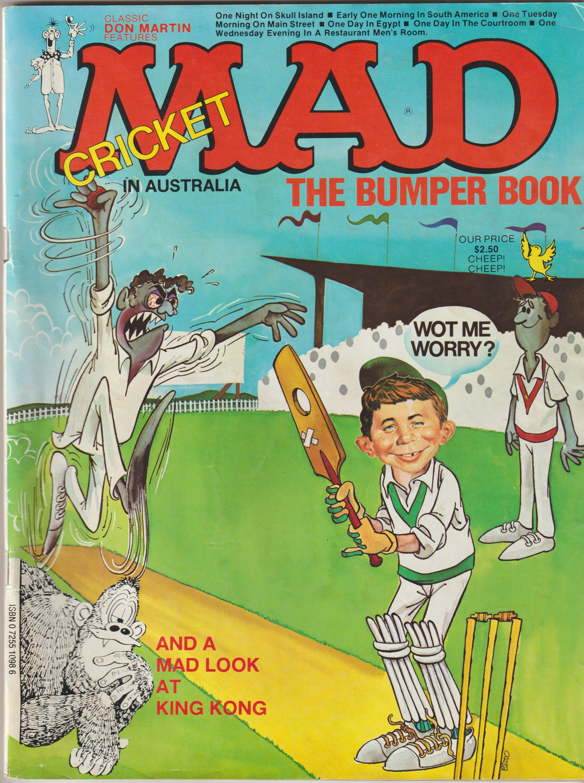 The bumber book of MAD Cricket • Australia