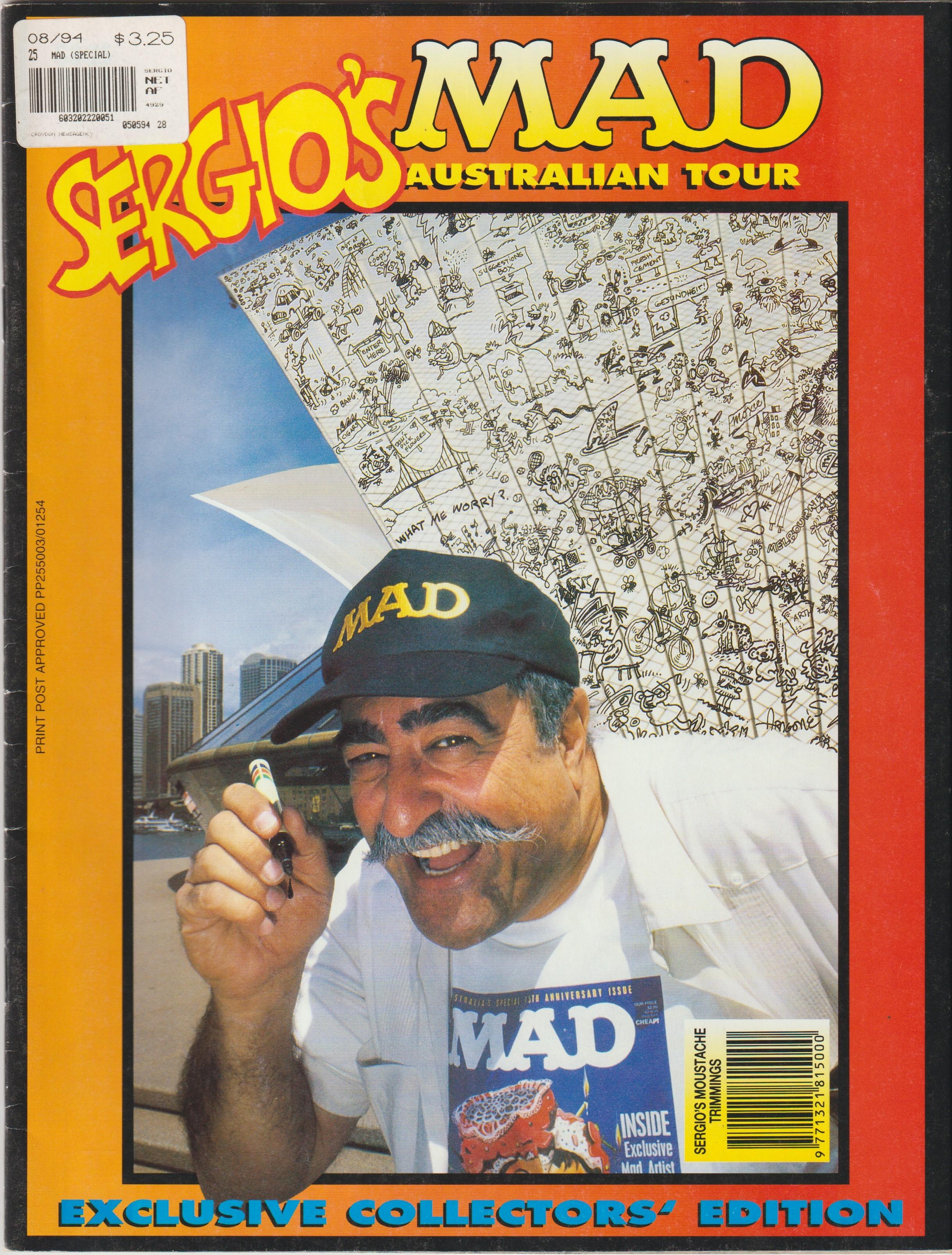 Sergios MAD Australian Tour • Australia