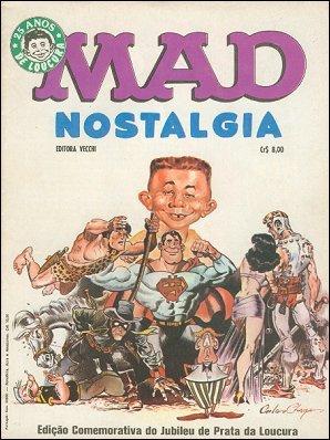 MAD Nostalgia • Brasil • 1st Edition - Veechi