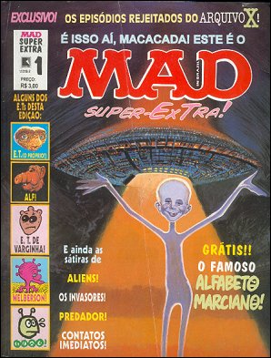 Miscellaneous MAD Specials (Record) #1 • Brasil • 2nd Edition - Record