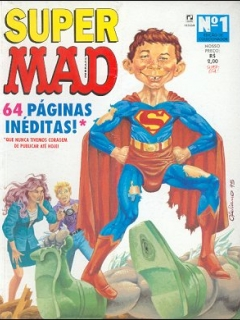 Go to Super MAD #1 • Brasil • 2nd Edition - Record