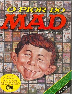 Mad O  Pior Do • Brasil • 2nd Edition - Record