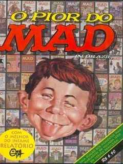 Mad O  Pior Do • Brasil • 2nd Edition - Record