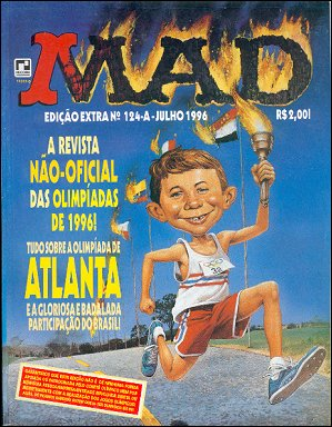 Brasil MAD Special - Extra #124-A • Brasil • 2nd Edition - Record