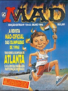 Go to Brasil MAD Special – Extra #124-A