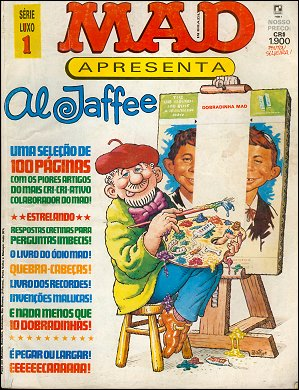 Mad A Presenta Al Jaffee #1 • Brasil • 2nd Edition - Record