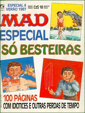 MAD Especial (Record) #4 • Brasil • 2nd Edition - Record