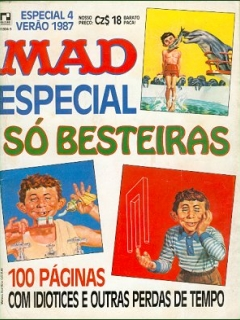 Go to MAD Especial #4 • Brasil • 2nd Edition - Record