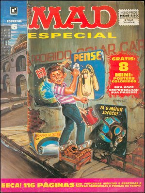 MAD Especial (Record) #6 • Brasil • 2nd Edition - Record