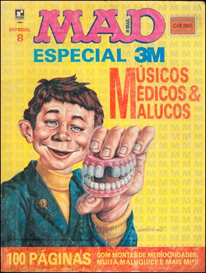 MAD Especial #8 • Brasil • 2nd Edition - Record