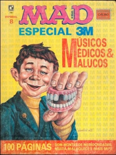 Go to MAD Especial #8 • Brasil • 2nd Edition - Record