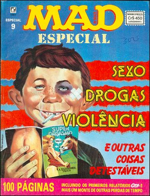 MAD Especial #9 • Brasil • 2nd Edition - Record