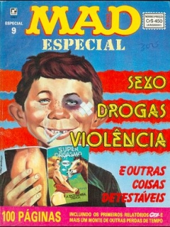 Go to MAD Especial #9 • Brasil • 2nd Edition - Record