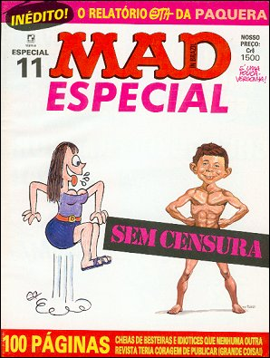 MAD Especial #11 • Brasil • 2nd Edition - Record