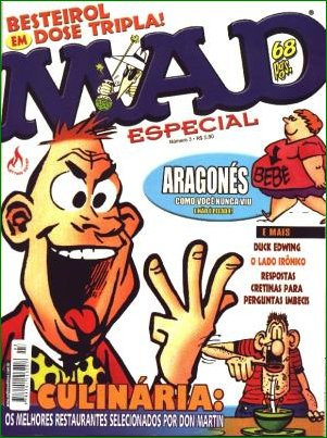 MAD Especial (Record) #3 • Brasil • 3rd Edition - Mythos