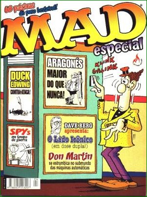 MAD Especial (Record) #4 • Brasil • 3rd Edition - Mythos