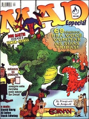 MAD Especial (Record) #9 • Brasil • 3rd Edition - Mythos