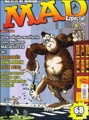 MAD Especial #13 • Brasil • 3rd Edition - Mythos