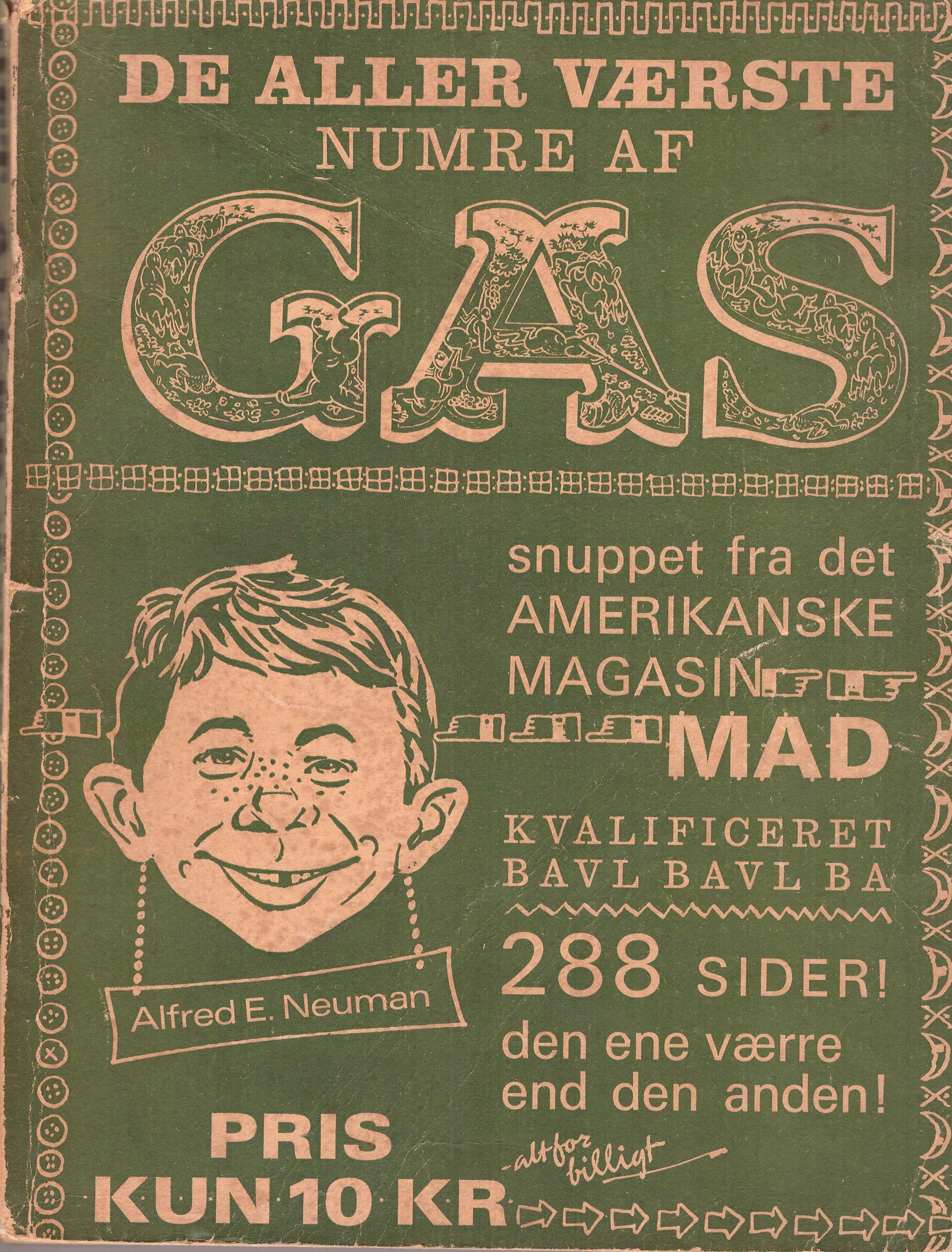 De Aller Vǽrste Numre Af Mad 1962 #1 • Denmark • 1st Edition - Williams