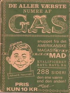 Go to De Aller Vǽrste Numre Af Mad 1962 #1