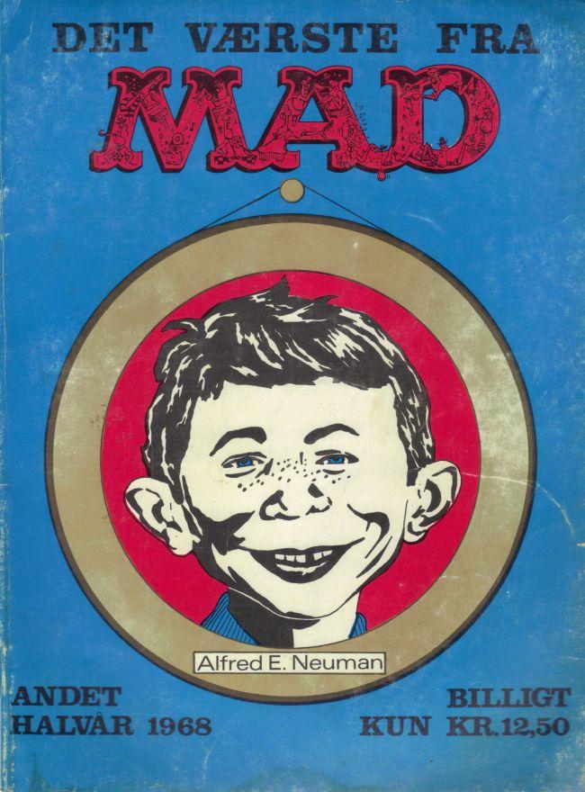Det Vǽrste Fra Mad 1968 #2 • Denmark • 1st Edition - Williams