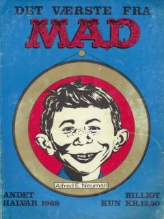 Go to Det Vǽrste Fra Mad 1968 #2 • Denmark • 1st Edition - Williams