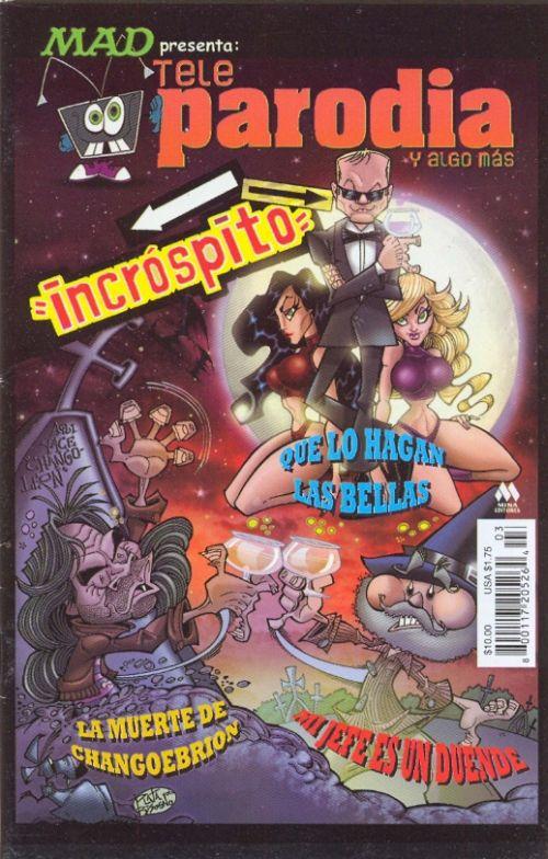Teleparodia #3 • Mexico • 4th Edition - Mina