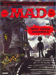 Kino MAD 1985 • Finland • 2nd Edition - Semic