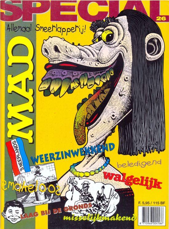 Het Mafste uit MAD #26 • Netherlands • 1st Edition
