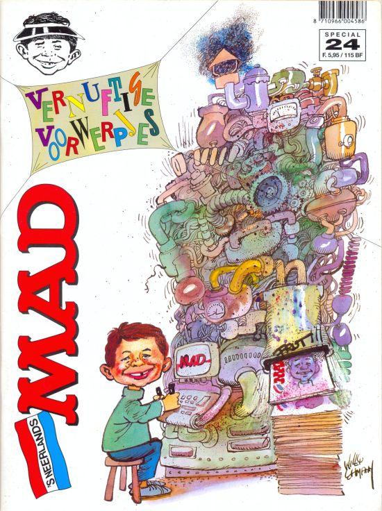 Het Mafste uit MAD #24 • Netherlands • 1st Edition