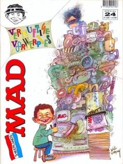 Go to Het Mafste uit MAD #24 • Netherlands • 1st Edition